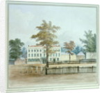 The Old House and entrance to Vauxhall Gardens by English School
