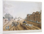 View of London by English School