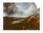 Branch Hill Pond, Hampstead Heath by John Constable