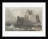 View of Carrifergus Castle by William Henry Bartlett