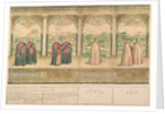 Imaginary Composite Procession of the Knights of the Garter at Windsor by English School