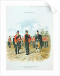 The Highland Light Infantry by Richard Simkin