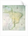Map of Brazil by Portuguese School