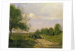 The Wagon, Souvenir of Saintry by Jean Baptiste Camille Corot