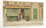Colourman's Shop, St Martin's Lane by George the Elder Scharf