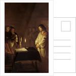 Christ before the High Priest by Gerrit van Honthorst