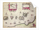 Map of The Moluccan Island, engraved by Jodocus Hondius by Willem Blaeu