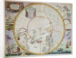 A Map of the North Pole by John Seller