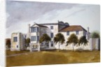 View of Sir Noel de Caron's House by English School