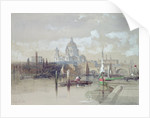 St. Pauls from the River by David Roberts