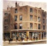 Alderman Moon's print shop by Thomas Hosmer Shepherd