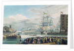 The Opening of St. Katharine Docks, Saturday the 25th October 1828 by Edward Duncan