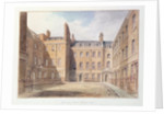 View of Downing Street, Westminster by John Buckler