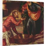 Christ Washing the Feet of the Disciples by Jacopo Robusti Tintoretto