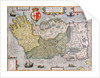 Map of Ireland by English School