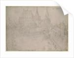 The Minster at Aachen by Albrecht Dürer or Duerer