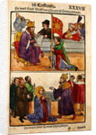Sigismund raises Count Adolph of Cleves to the rank of Duke at the Council of Constance by Ulrich von Richental