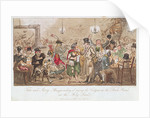 Tom and Jerry 'Masquerading It' Among the Cadgers in the 'Back Slums' in the Holy Land by George Cruikshank