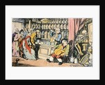 'Death and the Apothecary' or 'The Quack Doctor' by Thomas Rowlandson