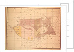 Index Chart of the Cutch Topographical Survey by English School