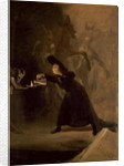 A Scene from 'El Hechizado por Fuerza' (The Forcibly Bewitched) by Francisco Jose de Goya y Lucientes