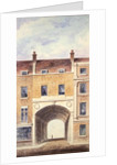 The Improved Entrance to Scotland Yard by T. Chawner