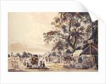 The Encampment in Hyde Park by Paul Sandby