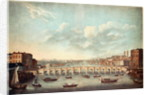 View of Westminster Bridge by French School