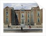 An Ancient Mansion, called Pitchett Hall by Thomas Hosmer Shepherd