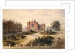 New Square, Lincoln's Inn, Holborn by Thomas Hosmer Shepherd
