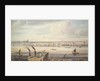A fine View of London from Westminster Bridge to the Adelphi by Gideon Yates