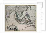 Map of India and the East Indies by Frederick de Wit