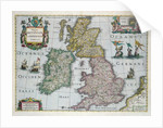 Map of Britain by English School