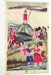 Illustration of Manco Capac by Spanish School