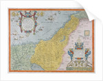 Map of Palestine by Abraham Ortelius
