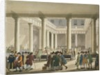 The Corn Exchange from Ackermann's 'Microcosm of London' by T. & Pugin