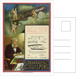 Advertisement for C. Brandauer & Co. Circular Pointed Pens by Dalziel Brothers