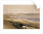 City of Tiberias on the Sea of Galilee by David Roberts