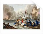 Anecdote at the Battle of Trafalgar by William Heath