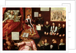 King Edward VI and the Pope by English School