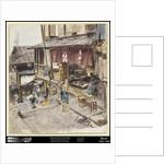 A Street in Ikao, Japan, III, 1890 by Robert Frederick Blum