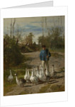 The Gooseherd, c.1850-55 by Constant-Emile Troyon