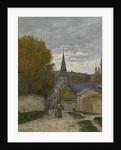 Street in Sainte-Adresse, 1867 by Claude Monet