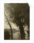 Bathers of the Borromean Isles, c.1865-70 by Jean Baptiste Camille Corot