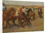 Before the Race, c.1882 by Edgar Degas