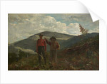 Two Guides, 1877 by Winslow Homer