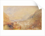 Brunnen from the Lake of Lucerne, 1845 by Joseph Mallord William Turner