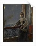 Moonlight, c.1885 by Alfred Emile Stevens