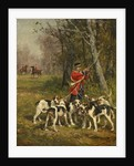 Hunting Hounds, c.1850-97 by Charles Oliver de Penne