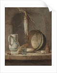 Still Life with Herrings, c.1735 by Jean-Baptiste Simeon Chardin